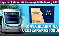 Tramvaylar, uluslararası arenada ödüle layık görüldü