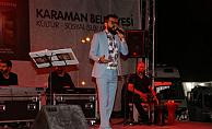 Abdullah Beyhan Karaman'da sahne aldı