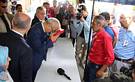 Bakan Elvan, Karaman'da şehit ailelerine taziye ziyaretinde
