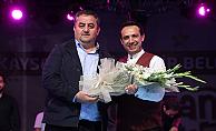 Fatih Koca  Kayseri'de konser verdi