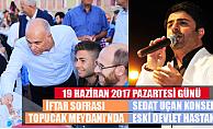 Karaman'da İftar sofrası bu akşam Topucak Mahallesinde