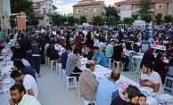 Karaman'da iftar yemeğinin son durağı Alacasuluk Mahallesi