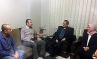 Karaman Valisi Tapsız ve Ailesinden Anlamlı Ziyaretler