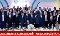 Konya'da 12. Geleneksel Konyalılar İftar Buluşması  yapıldı