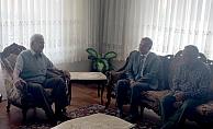Vali Süleyman Tapsız, taziye ziyaretinde bulundu