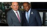 Houston Şehrinin Belediye Başkanı Sylvester Turner'den Başkan Topbaş'a Ziyaret