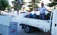 Karaman'da belediye, sivrisinek mücadelesine devam ediyor