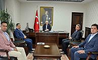 Karaman Valisi Fahri Meral'e ziyaretler devam ediyor