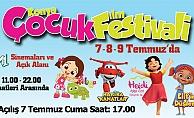 Türkiye'nin en eğlenceli Çocuk Festivali'ne ev sahipliği yapıyor