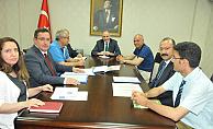 Vali Fahri Meral başkanlığında bir değerlendirme toplantısı yapıldı