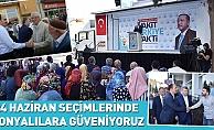 24 Haziran Seçimlerinde Konyalılara Güveniyoruz