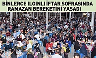 Binlerce Ilgınlı İftar Sofrasında Ramazan Bereketini Yaşadı