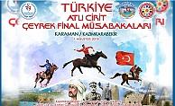 Atlı Cirit Çeyrek Final Heyecanı Karaman'da