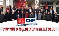 CHP'NİN O İLÇEDE ADAYI BELLİ OLDU