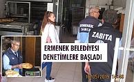 ERMENEK BELEDİYESI DENETİMLERE BAŞLADI