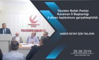 Yeniden Refah Partisi Karaman İl Başkanlığı il divan toplantısını gerçekleştirildi.