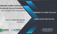ERMENEK'TE TARİHİ TOPLANTI