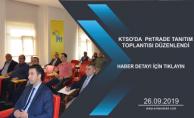 KTSO'DA  PttTRADE TANITIM TOPLANTISI DÜZENLENDİ