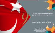 AK Parti Karaman İl Başkanı Abidin Çağlayan 29 Ekim Cumhuriyet Bayramı