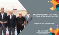 AMATÖR SPOR HAFTASI PANELİ VE ÖDÜL TÖRENİ DÜZENLENDİ