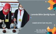 Larende Bilim Şenliği Açıldı