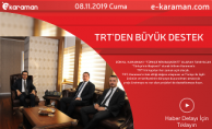 TRT'DEN BÜYÜK DESTEK