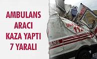 ERMENEK GÜNEYYURT YOLUNDA KAZA..