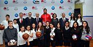 81 İlde 81 Okul Yeni Spor Malzemesine Kavuşacak