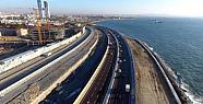 Avrasya Tüneli bağlantı yolları  inşaat çalışmaları tamamlandı