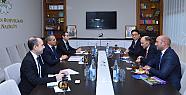 Azerbaycan Eğitim Bakanı Dünya Skaut Hareketi Örgütü Başkanı ile görüştü
