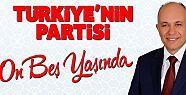 Başkan Çalışkanın Ak Parti 15. yıl kuruluş mesajı