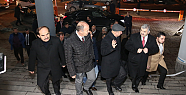 Başkan Çelik, yangın çıkan Kocasinan Belediyesi'ni ziyaret etti