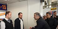 Başkan Mustafa Çelik, terminal ziyareti yaptı