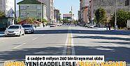 Çumra'da caddelerde düzenleme yapılıyor