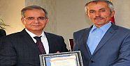 Halk Şairi Mustafa Turan, Vali Tapsız' ı Ziyaret Etti