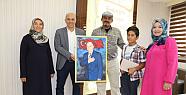 Iraklı Halid İbrahim Başkan Çalışkan'a...