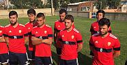 Karaman Belediyespor, Konyaspor U19 takımı ile maç yapıyor