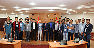Karaman'da Genç Çiftçilerden  Başkan Çalışkan'a  ziyaret