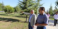Karaman' da Necmettin Erbakan Parkı' nda çalışmalar tamamlandı