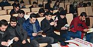 Karaman Kmü'de kitap okuma etkinliği düzenlendi
