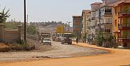 Karaman Siyahser Mahallesinde Yol Çalışması Tamamlanıyor