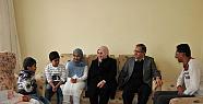 Karaman Valisi Mülteci Ailelerine misafir oldu