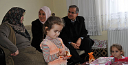 Karaman Valisi Tapsız, Şehit Nihat Akman'ın Ailesine Konuk Oldu