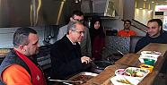 Karaman Valisi Tapsız'dan Çarşı Esnafına Ziyaret