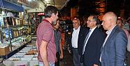 Karaman Valisi TAPSIZ' dan esnaflara bayram ziyareti