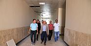 Karaman'da Başkan Çalışkan, Fuar Merkezini Gezdi