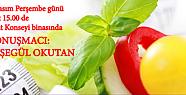 Karaman'da Kent Konseyi Sağlıklı Beslenme Konferansı Veriyor