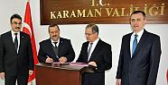 Karaman'da Sosyal Denge Sözleşmeleri Yenilendi