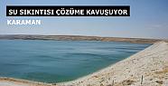 Karaman' da su kesintileri çözüme kavuşuyor