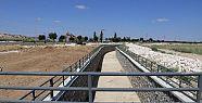 Karaman'da taşkın suyu önleme projesi devam ediyor